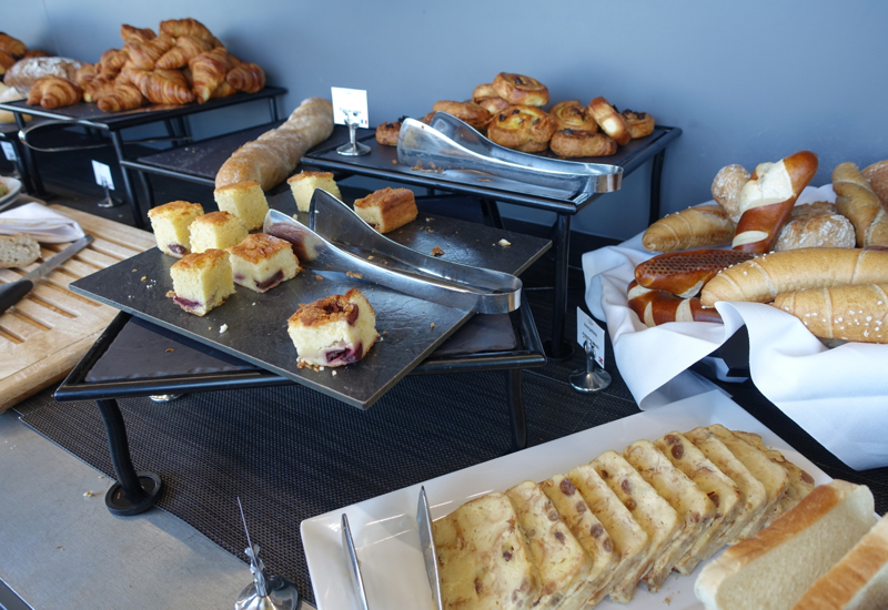 Breads and Pastries, Breakfast Buffet at The LOFT, Sofitel Vienna Stephansdom