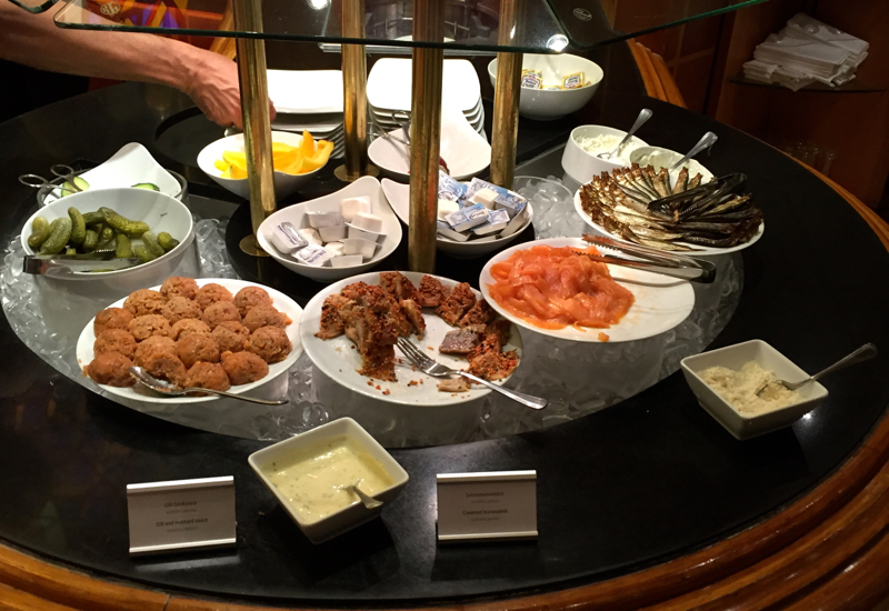 InterContinental Berlin Review-Breakfast Buffet at L.A. Cafe