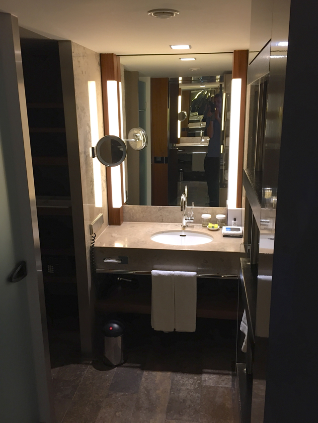 Review-InterContinental Berlin Superior Room Bathroom