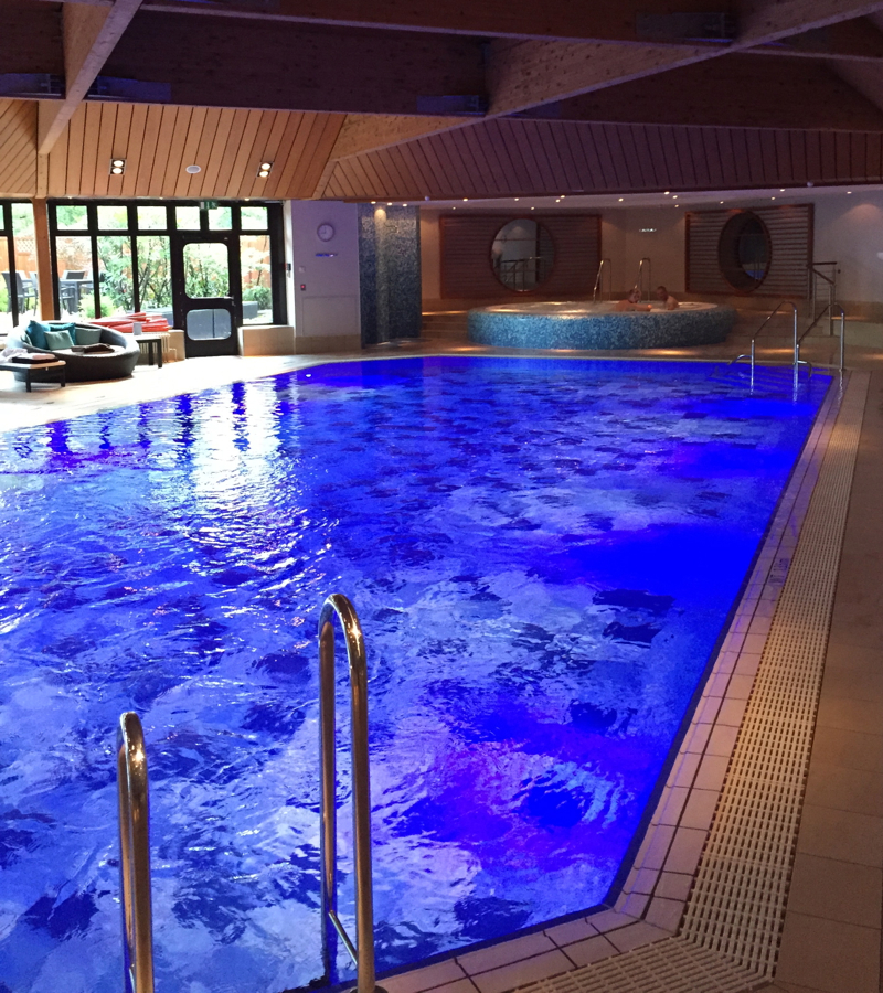 Review-InterContinental Berlin: Swimming Pool