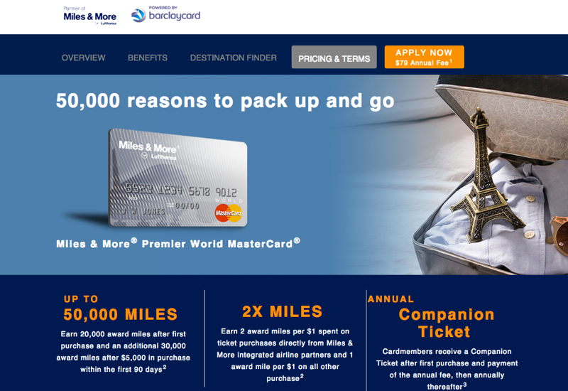 50K Lufthansa Miles & More Card and Other Expiring Offers