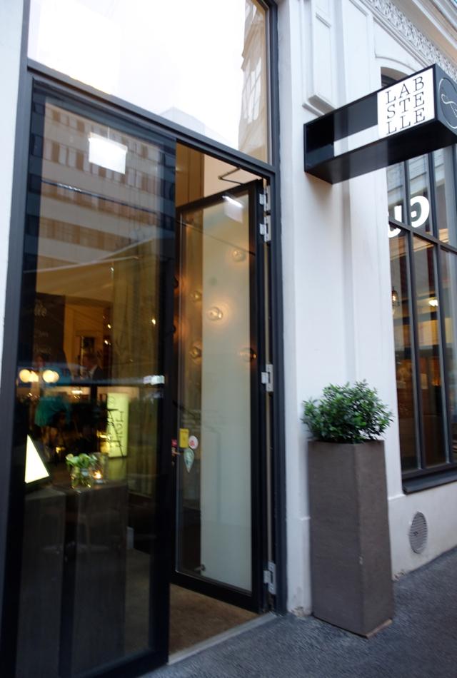 Entrance to Labstelle Wien Restaurant, Vienna