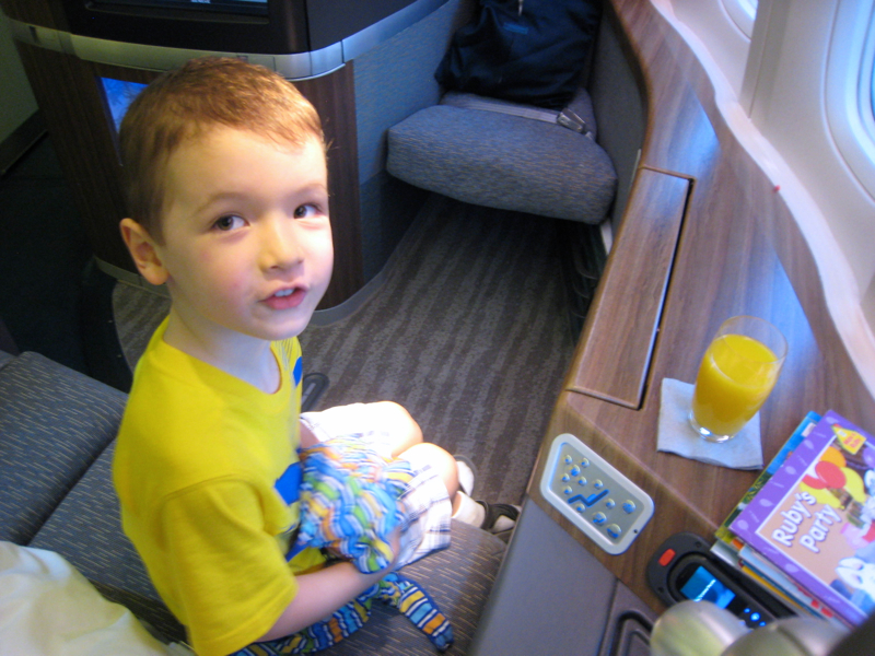 Flying First Class With Kids: Which Airlines And Seats?