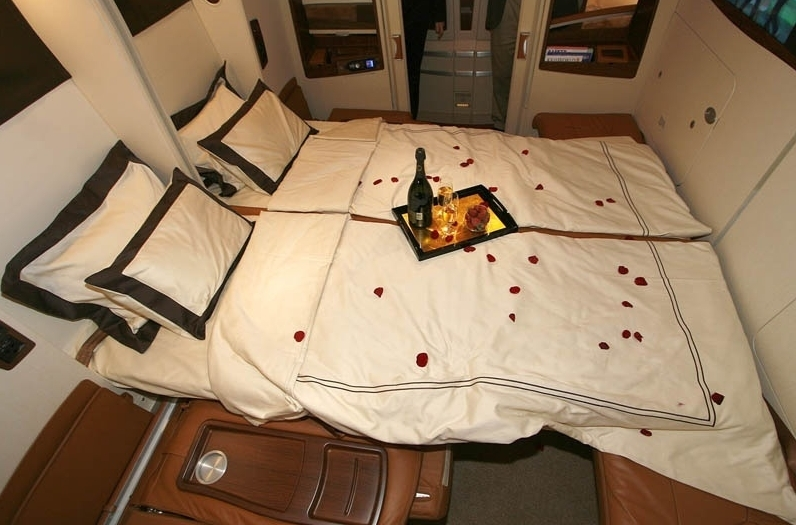 Singapore Suites Also Good for a Parent Flying with a Kid