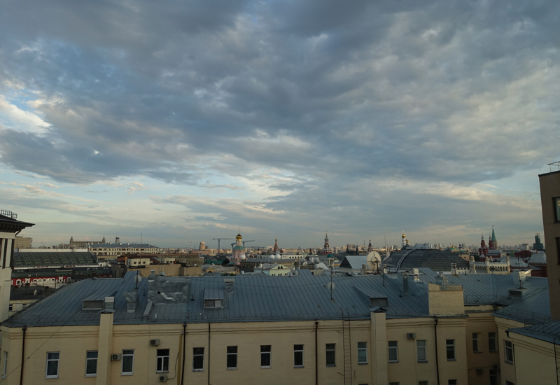 Review-Ararat Park Hyatt Moscow-View from Park Room