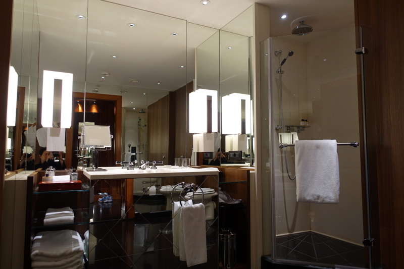Review-Ararat Park Hyatt Moscow-Park Room Bathroom