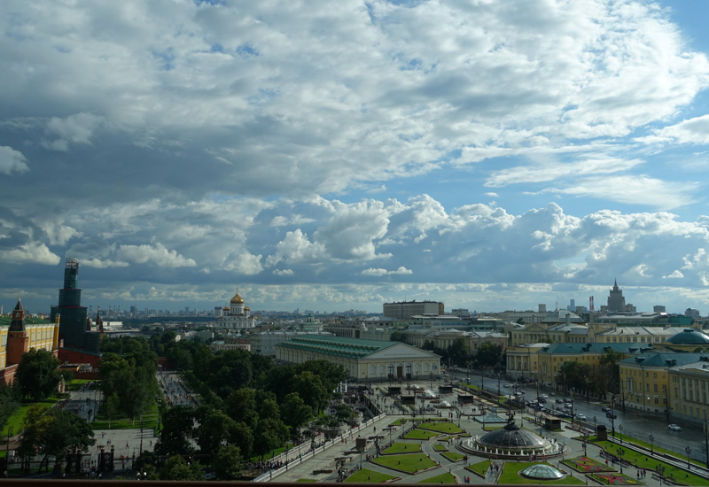 Review: Four Seasons Moscow-View from Premier Room