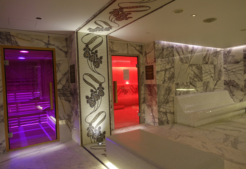 Four Seasons Moscow Amnis Spa Finnish Sauna and Steam Room