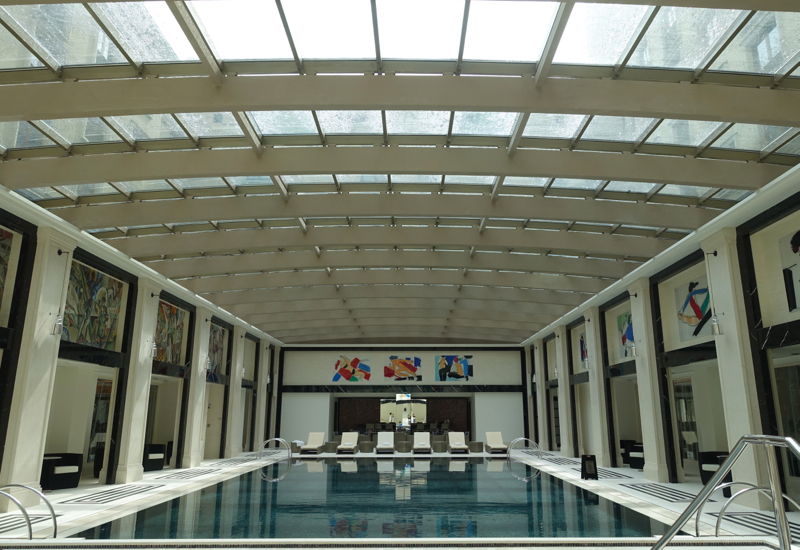 Four Seasons Moscow Pool