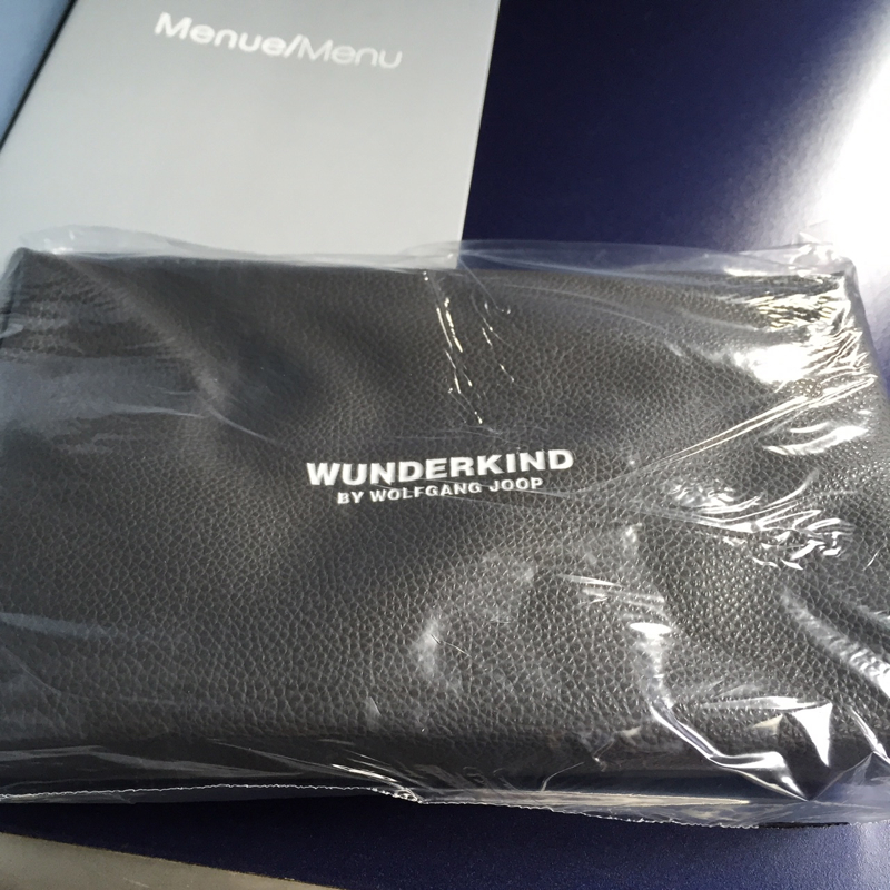 Air Berlin Business Class Review-Amenity Kit-Wunderkind by Wolfgang Joop