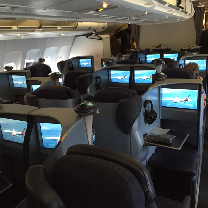 Review: Air Berlin A330 Business Class Berlin to NYC-Business Class Cabin