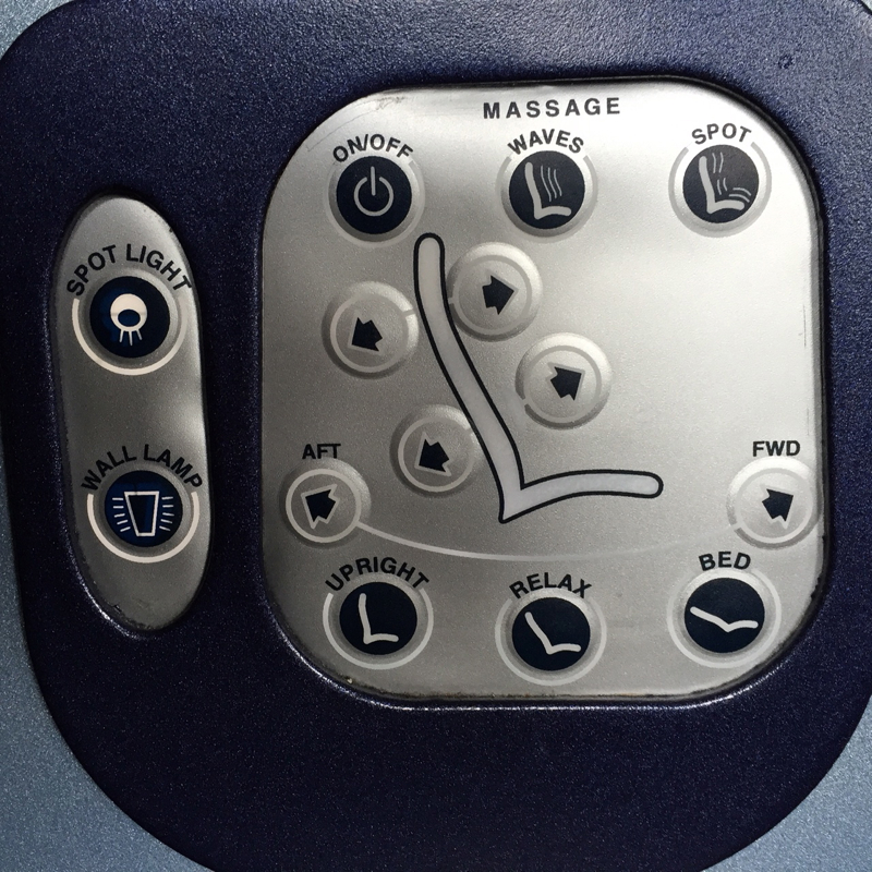 Review-Air Berlin Business Class Seat Controls