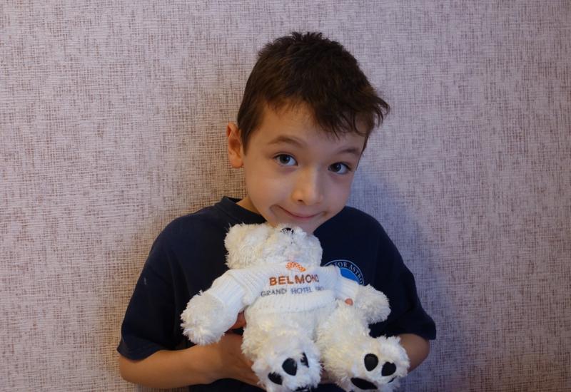 Belmond Grand Hotel Europe Kids' Welcome Amenity: Stuffed Animal Bear