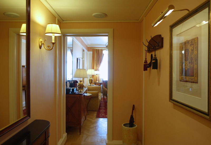 Review-Belmond Grand Hotel Europe St Petersburg Russia-One Bedroom Suite Entrance Hall