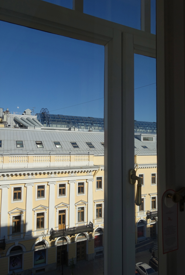 View from Suite, Belmond Grand Hotel Europe Review