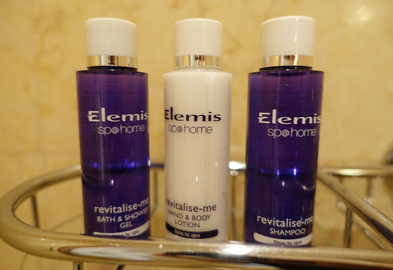 Elemis Bath Products, Belmond Grand Hotel Europe Review
