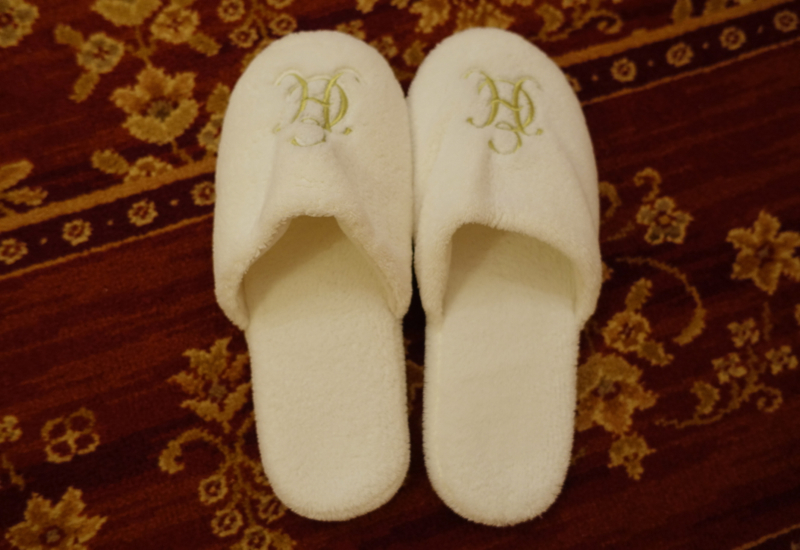 Plush Slippers, Belmond Grand Hotel Europe Review