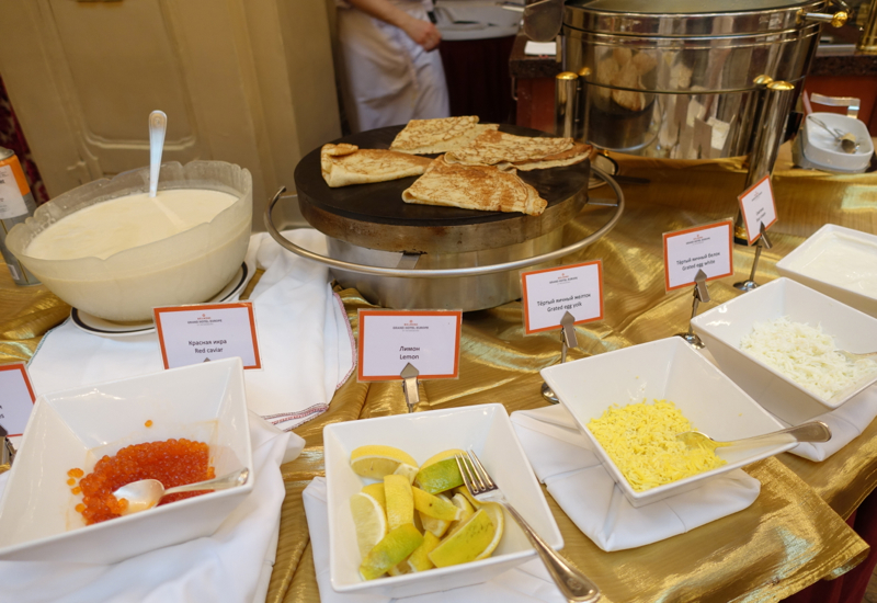 Blini Station, Breakfast at Grand Hotel Europe Review