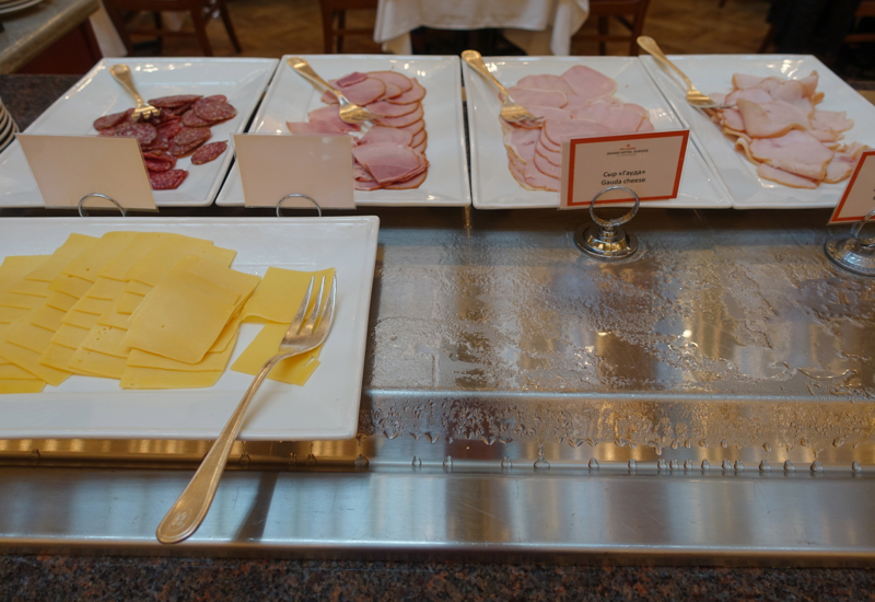 Cold Cuts, L'Europe Restaurant Breakfast Review