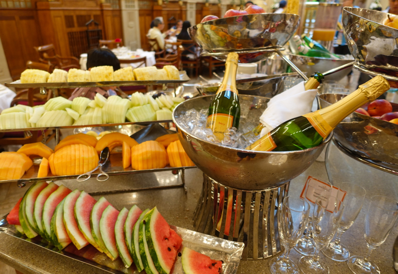 Fresh Fruit, Breakfast Buffet at L'Europe Restaurant