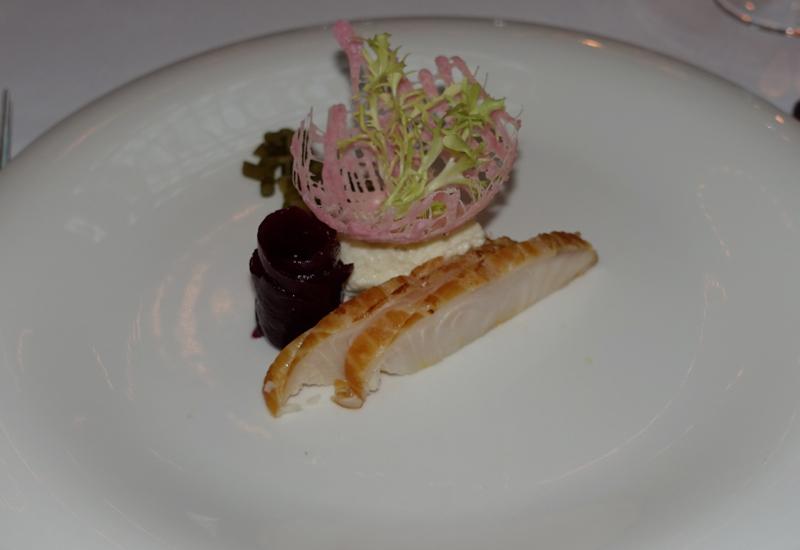 Smoked Sturgeon, L'Europe Restaurant Review, Grand Hotel Europe