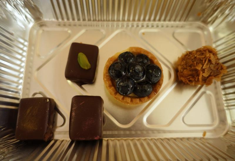 Mignardises, L'Europe Restaurant Review, Grand Hotel Europe