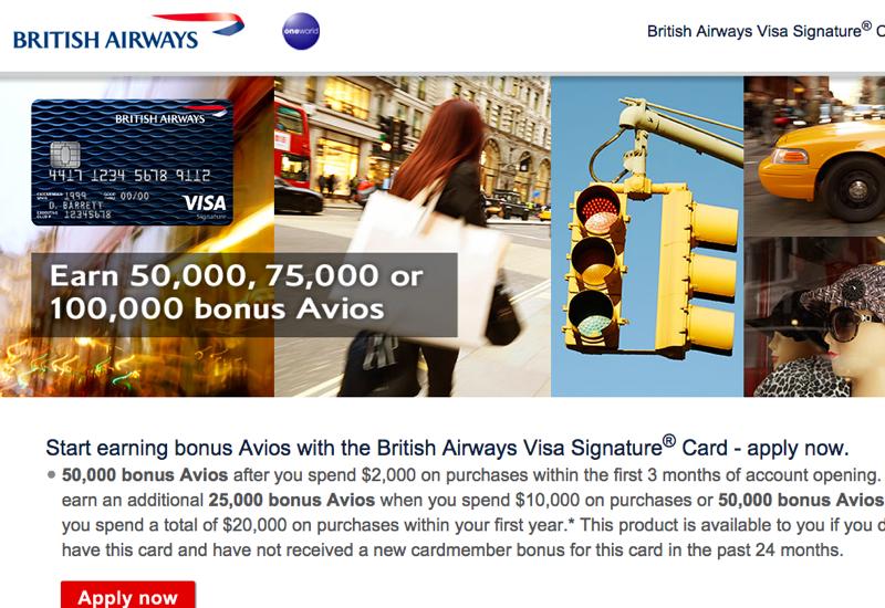 100K British Airways Visa for $20K Spend Worth It?