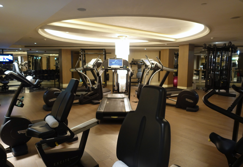 Fitness Center, Four Seasons St. Petersburg Russia Review