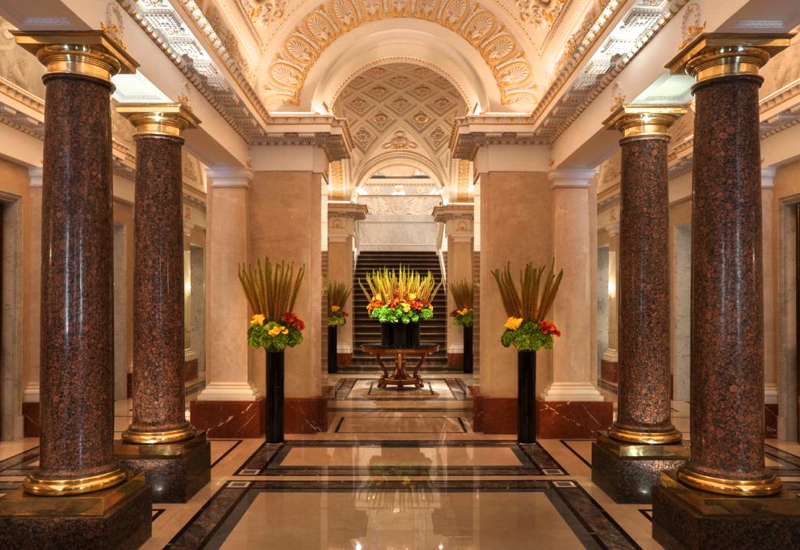 Review: Four Seasons St. Petersburg Russia-Lobby