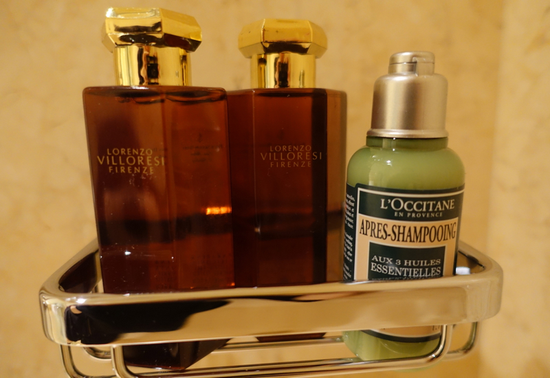 Lorenzo Villoresi Bath Products, Four Seasons St. Petersburg Russia
