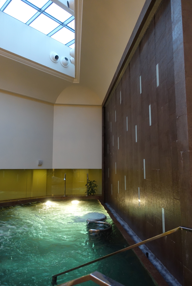 Vitality Pool, Spa at Four Seasons St. Petersburg Russia Review