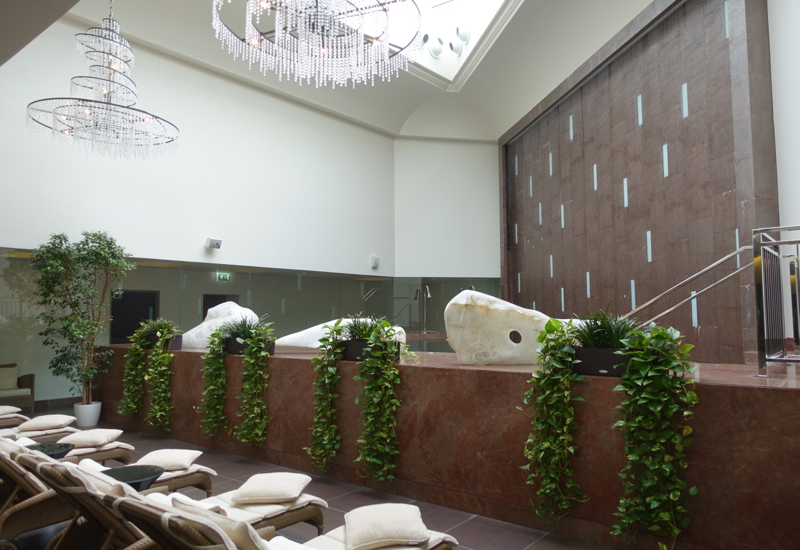 Spa Lounge Chairs, Four Seasons St. Petersburg Russia Review
