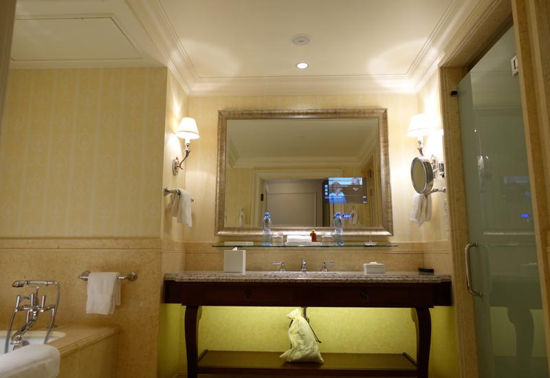 Terrace Bathroom, Four Seasons St. Petersburg Russia Review