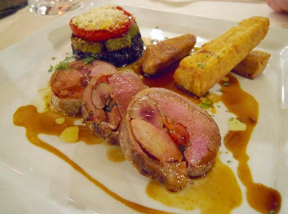 Dinner at Luc Salsedo, Nice, France