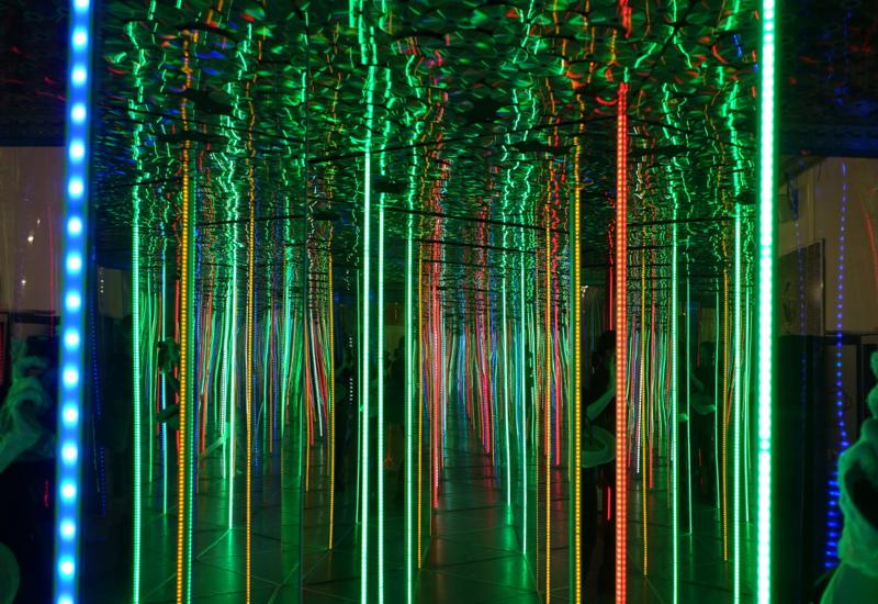 Mirror Maze, ЛабиринтУм Museum St Petersburg Russia