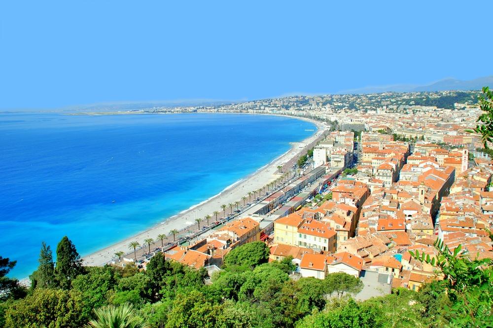 Promenade des Anglais, Nice, France