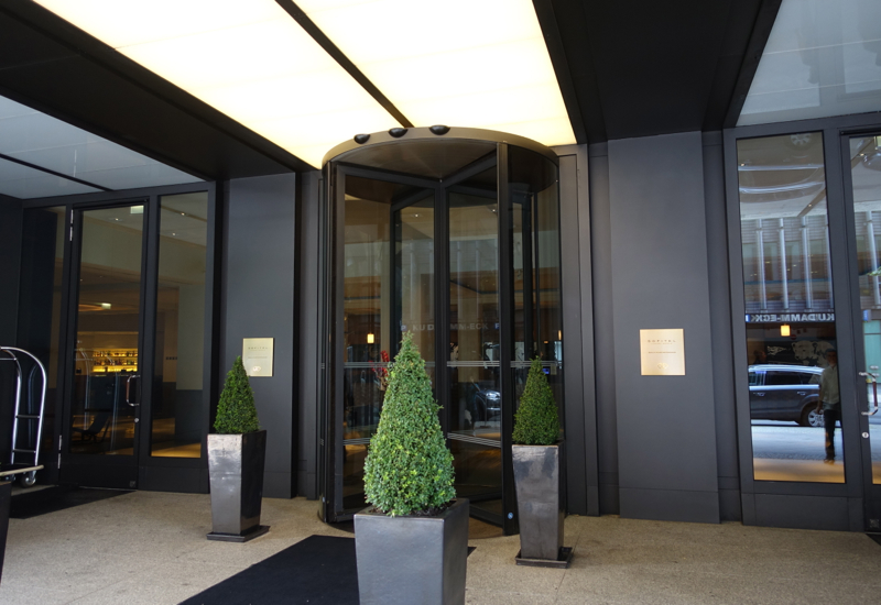 Entrance, Sofitel Berlin Kurfurstendamm Review
