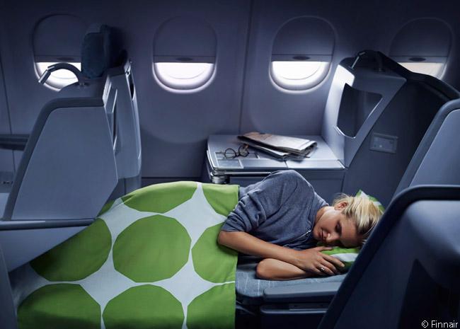 Finnair Flat Bed Business Class on the A330