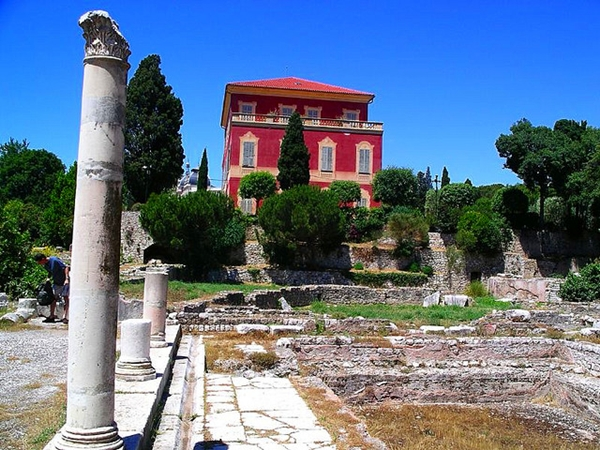 Roman Ruins and the Matisse Museum, Cimiez, Nice, France