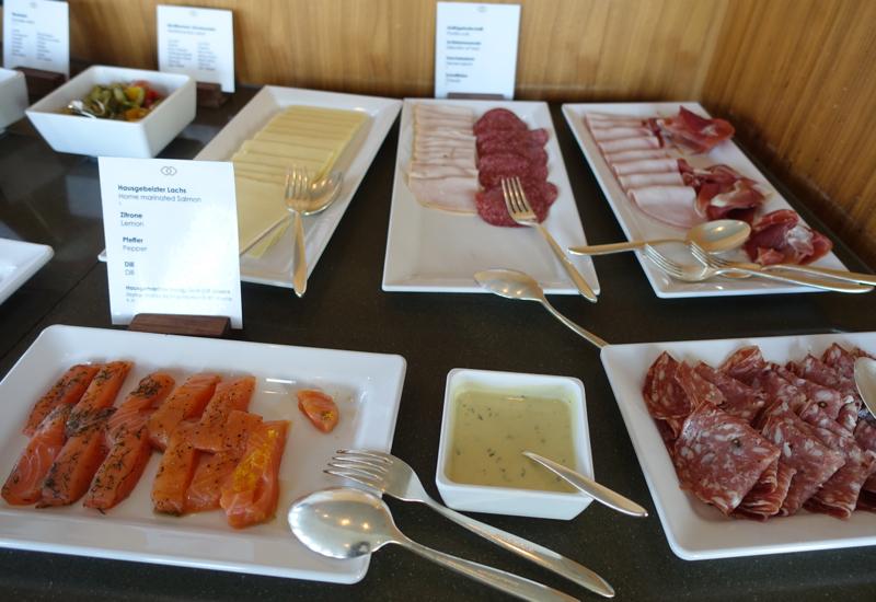 Cured Salmon and Cold Cuts, Club Lounge, Sofitel Berlin Kurfurstendamm