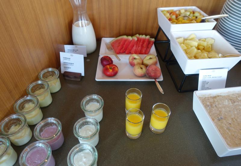 Yogurts and Fruits, Club Lounge, Sofitel Berlin Kurfurstendamm Review