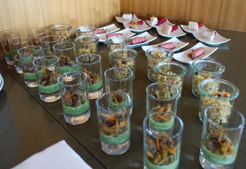 Appetizers, Club Lounge, Sofitel Berlin Kurfurstendamm Review