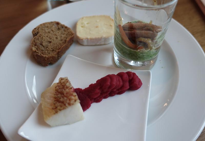 Appetizer Plate, Club Lounge, Sofitel Berlin Kurfurstendamm Review