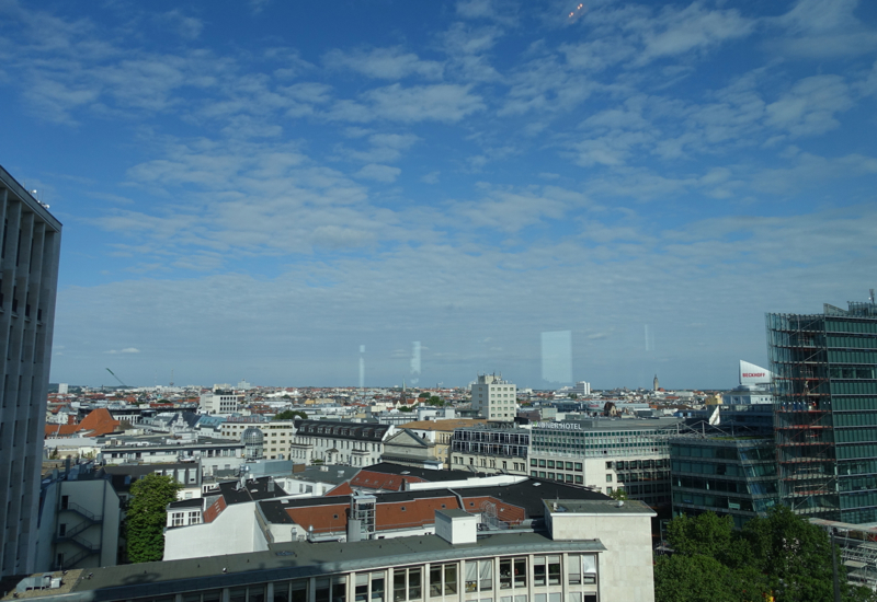 View from Club Lounge, Sofitel Berlin Kurfurstendamm Review