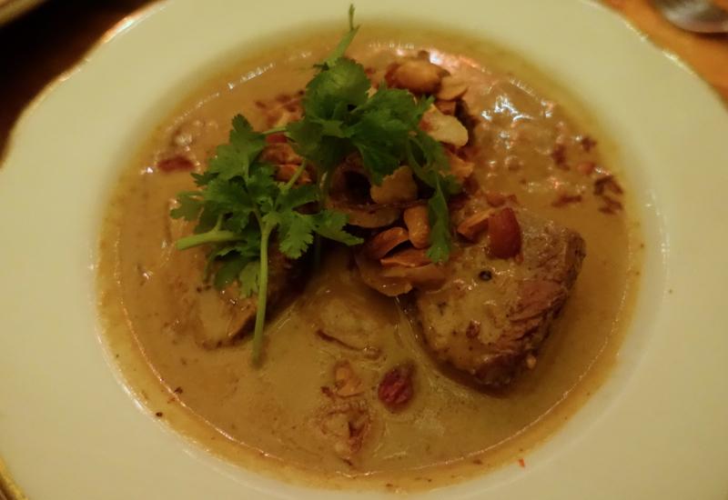 Massaman Neuh (Boneless Beef with Massaman Curry), Uncle Boons NYC Review