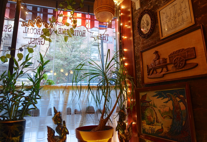 Uncle Boons NYC Restaurant Review-Corner Table by the Window