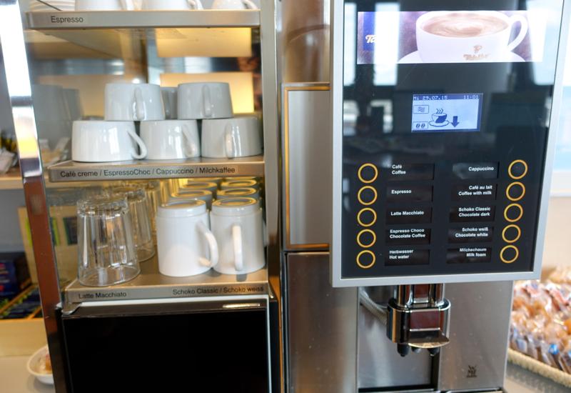 Espresso Machine, Air France Lounge Review, Berlin Tegel Airport