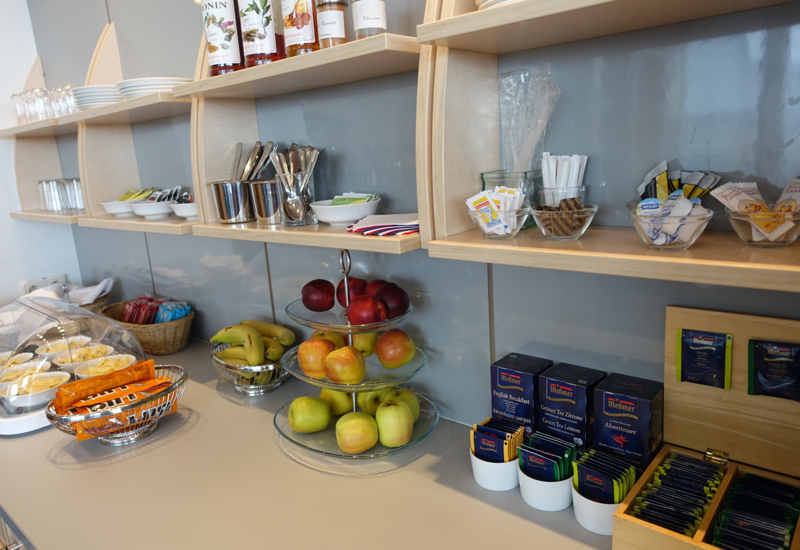 Fresh Fruit and Tea, Air France Lounge Review, Berlin Tegel Airport