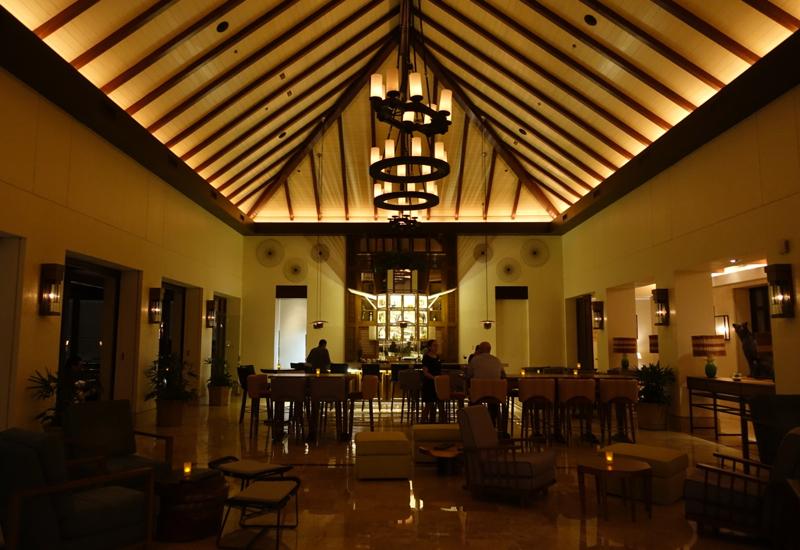 Lobby Bar, Fairmont Mayakoba Review, Riviera Maya
