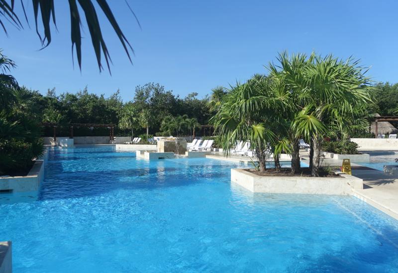 Fairmont Mayakoba Review-Swimming Pool by La Laguna
